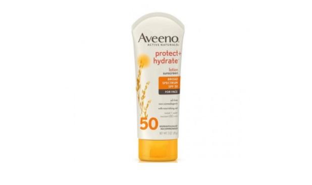 Kem chống nắng cho da dầu mụn Aveeno Protect + Hydrate Sunscreen Broad Spectrum SPF 50