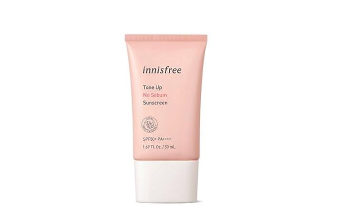 Kem chống nắng Innisfree Tone Up No Sebum Sunscreen SPF50 PA++++ (50ml)