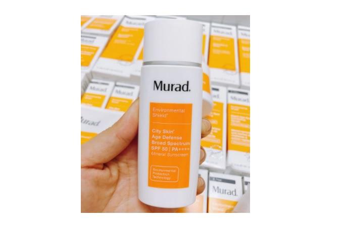 Kem chống nắng Murad City Skin Age Defense Broad Spectrum SPF 50