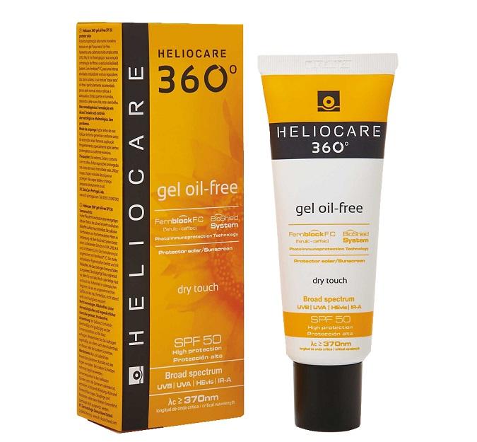 Kem chống nắng Heliocare 360 Gel Oil-Free SPF50+ có tốt không?