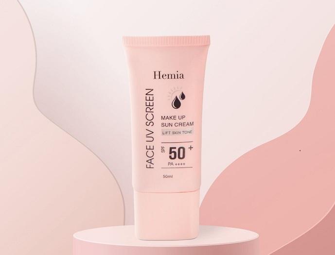 Review kem chống nắng Hemia, bán đắt như tôm tươi trên sàn TMĐT