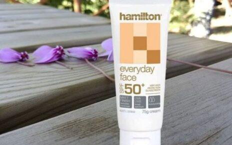 Review kem chống nắng Hamilton thay trang điểm cực đẹp