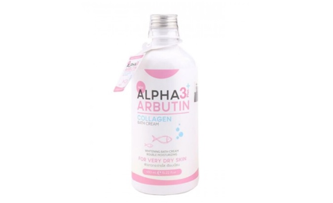 Sữa tắm trắng da Alpha Arbutin Collagen