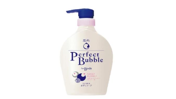 Sữa tắm trắng da Senka Perfect Bubble for Body Sweet Floral