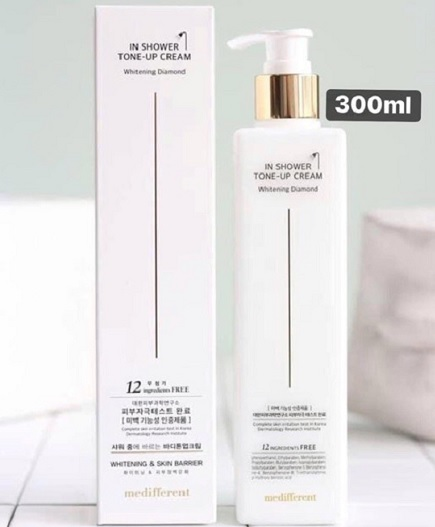 Sữa tắm truyền trắng Medifferent In Shower Tone Up Cream