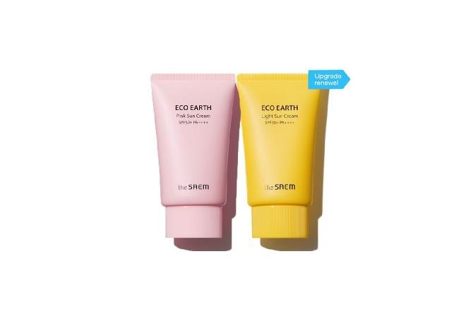 The Saem Eco Earth Power Pink Sun Cream SPF50+ PA++++