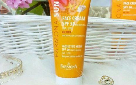 Review kem chống nắng Farmona: Không chứa dầu, tốt cho da mụn