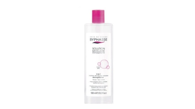 Byphasse Solution Micellaire Démaquillante (500ml)